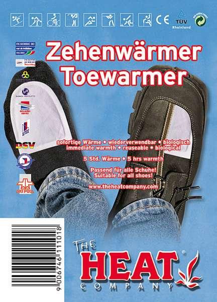 Heat Zehenwärmer, 1 Paar Wärmekissen mit Klebeseite