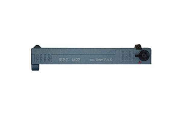 Wechselschlitten für Schreckschusspistole ISSC M22 - Blue Titani