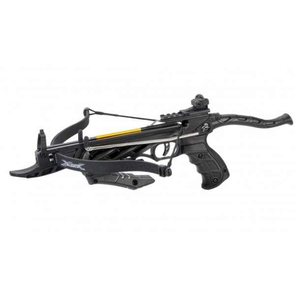 Armbrustpistole Alligator schwarz, eine der besten und stärksten Armbrustpistolen 2018.