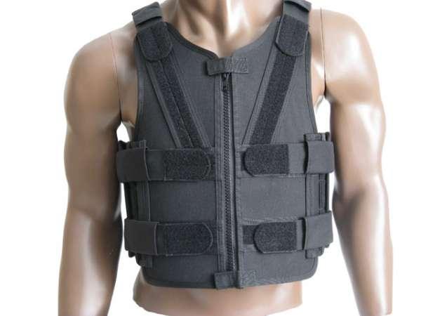 Stichhemmende Tactical-Einsatzweste Mod. V ( Gr. L-XL )