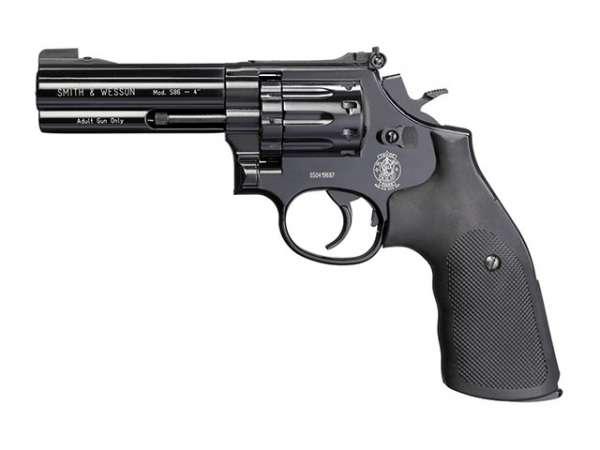 """Smith & Wesson Mod. 586, 4"""", schwarz"""