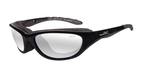 WileyX Airrage R: glänzend schwarz