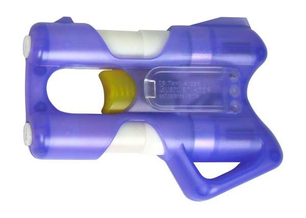 Pfefferspray Abwehrgerät / Abschussgerät Guardian Angel III purple