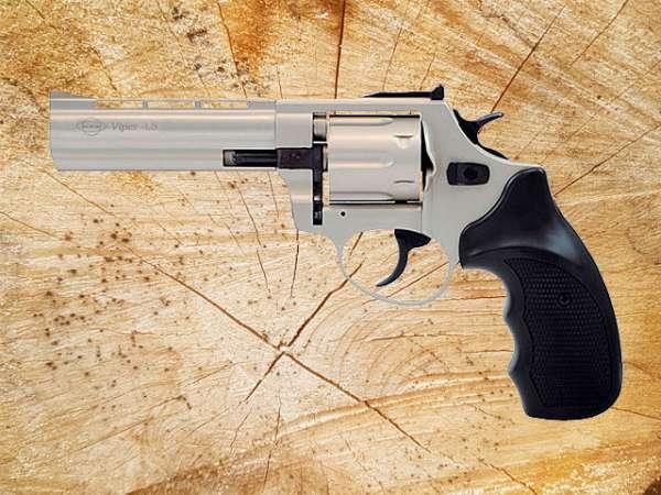 """B-Ware Schreckschussrevolver GSG Viper 4,5"""" 9mm R Knall bicolor"""