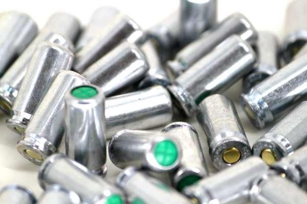 150 Stück Platzpatronen V2 Nitro Power Silber 9 mm P.A.K. - 150 Schuss SET