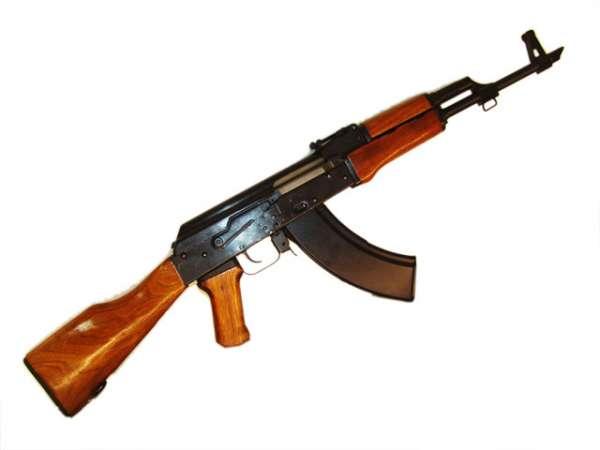 Kalashnikov AK 47, 4.5mm BB, C02 Gewehr, Holzschaft Sammlerstück