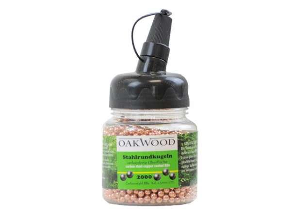 Oakwood Stahlrundkugel 2.000 Stk. verkupfert