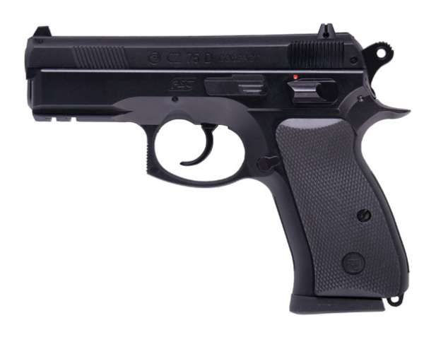 CZ 75D Compact Federdruck Softair Pistole, Kal. 6mm BB, < 0.5 Joule, 202656