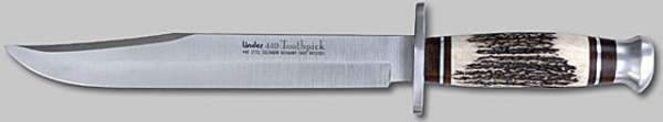 Arkansas Toothpick, rostfr. pol., Klinge 20 cm