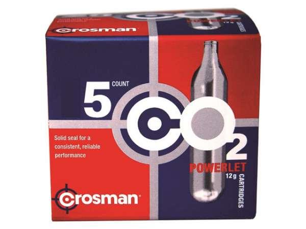 Crosman CO2-Kapseln 12g 5 Stück