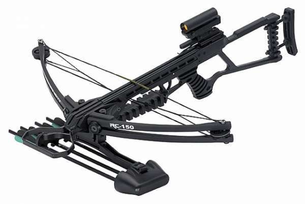 Barnett Armbrust RC-150, 150 lbs. Zuggewicht, Dot-Sight-Visier,