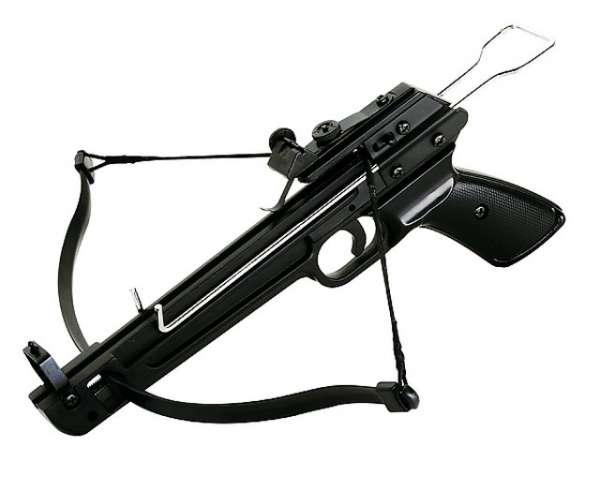 """Pistolenarmbrust """"Shooter"""" 40 lbs., inklusive 5 Kunststoffpfeile"""