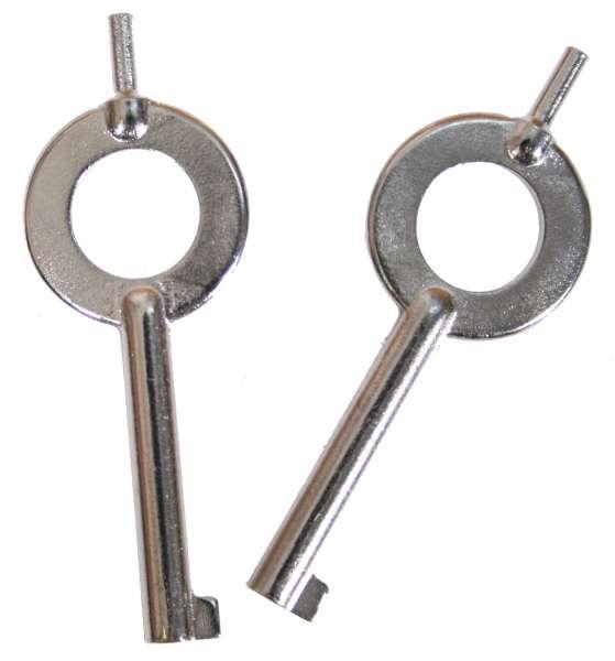 Handschellenschlüssel 1 Paar