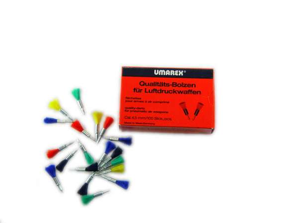 Dart Pfeile / Federbolzen für Luftdruckwaffen, 4,5 mm