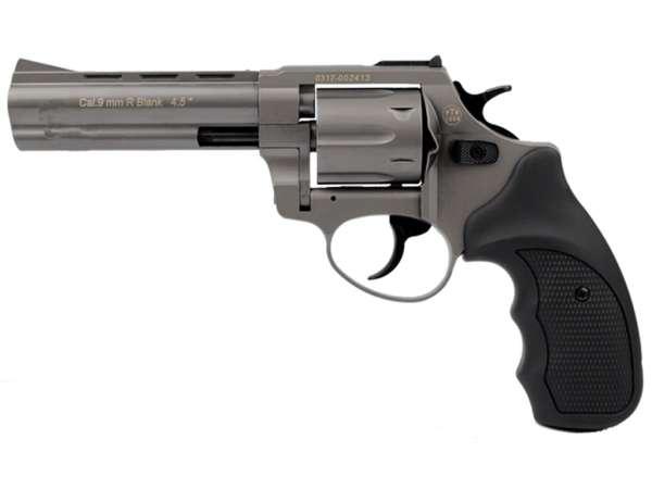 ZORAKI R1 4,5 Zoll Schreckschuss Gas Signal Revolver Kaliber 9 mm R.K. titan