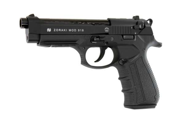 Zoraki 918 Schreckschusspistole / Gaspistole schwarz 9 mm P.A.K. Ansicht 1
