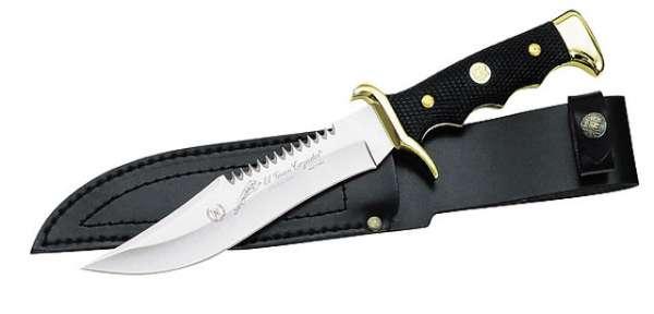 Nieto Messer, Klinge 18 cm, Kunststoff-Griff, Leder