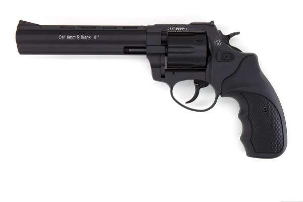 """Zoraki R1 6"""" Schreckschuss Revolver Kaliber 9 mm R.K. brüniert schwarz"""