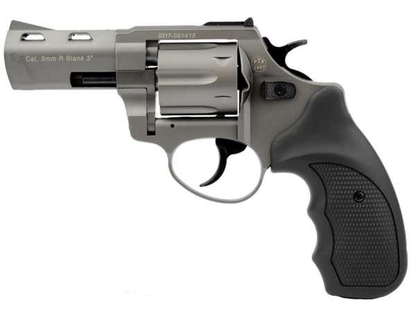 ZORAKI R2 3 Zoll Schreckschuss Gas Signal Revolver Kaliber 9 mm R.K. titan