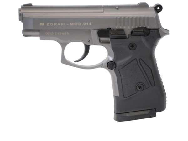 Zoraki 914 Schreckschusspistole / Gaspistole titan
