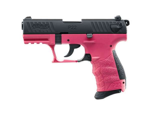 Walther P22Q, cal. 9 mm P.A.K., Wildberry Edition