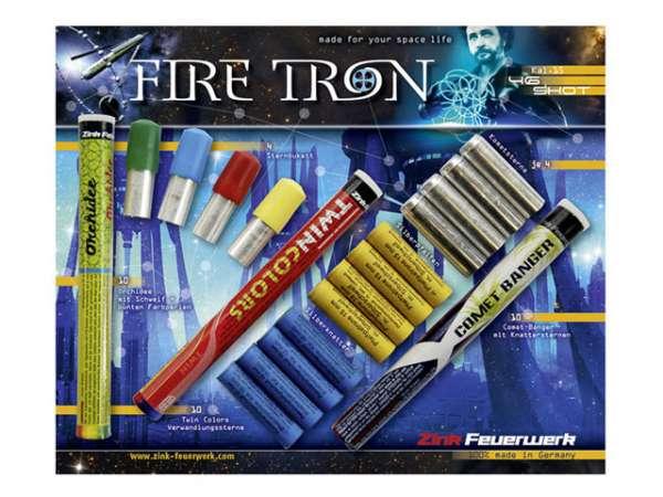 Zink Fire Tron Sortiment, 46-teilig