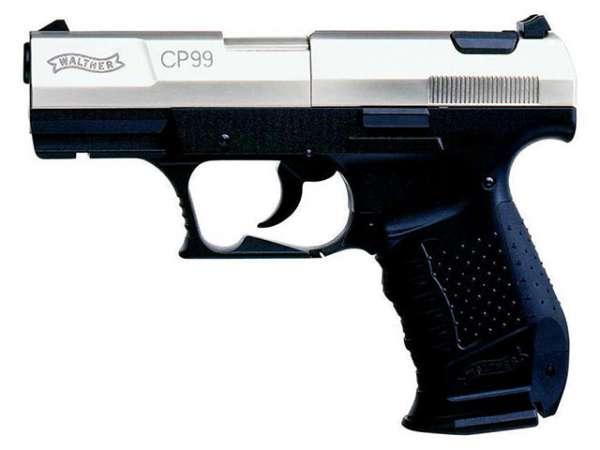 Walther CP99, bicolor, C02 Pistole, 4.5mm Diabolos
