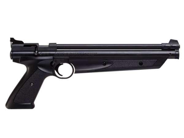 Crosman American Classic 1377 Luftpistole, schwarz