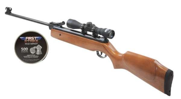 Luftgewehr SET inkl. First Strike - Zielfernrohr 4X32