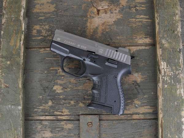 ZORAKI 906 Schreckschusspistole / Gaspistole 9 mm P.A.K. titan 2. Wahl