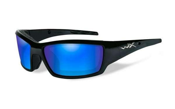 WileyX Tide R: glänzend schwarz