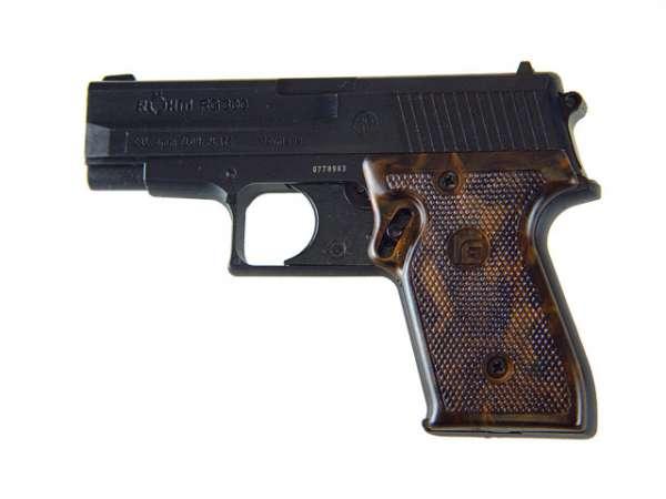 Röhm RG 300 Gaspistole, brüniert