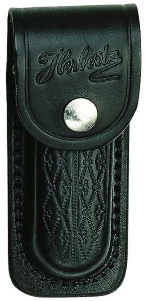 Herbertz Messer-Etui, schwarz, Heftlänge 13 cm