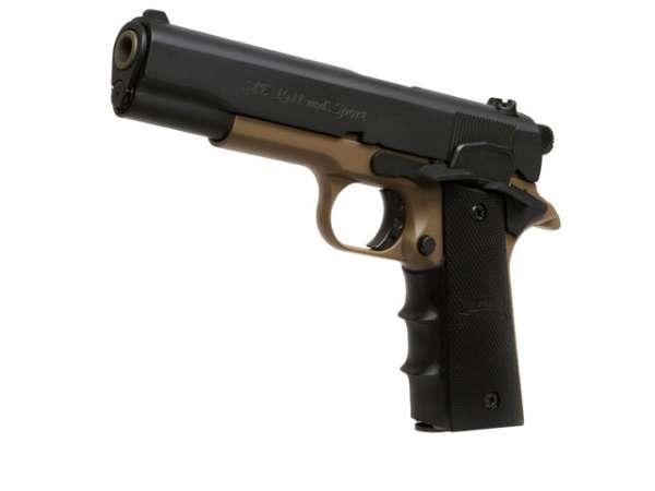 Schreckschusspistole ME Mod. 1911 Sport 9mm P.A.K. black dark ea