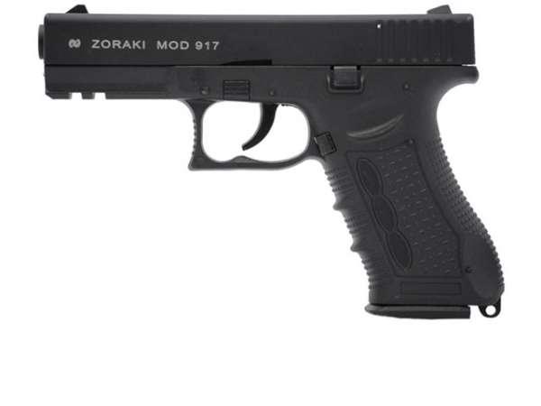 Zoraki 917 Schreckschusspistole / Gaspistole schwarz 9 mm P.A.K.