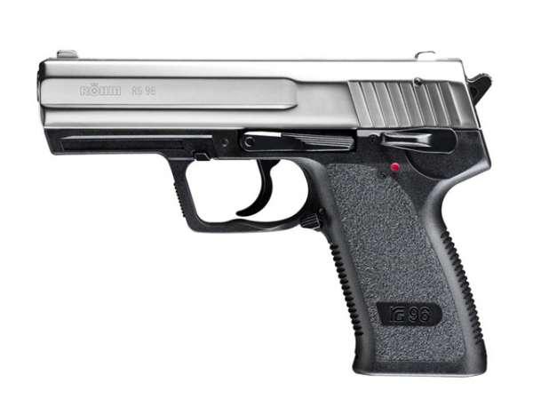 Röhm RG 96 Gaspistole, vernickelt
