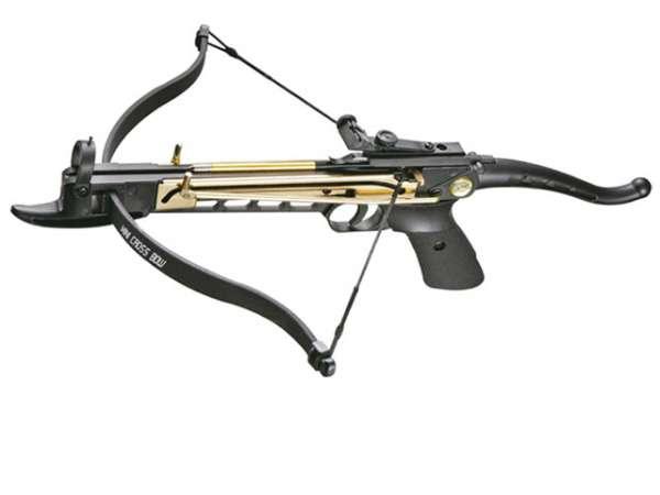"Pistolenarmbrust ""Cobra"", 80lbs., Metallkorpus"