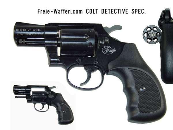 Colt Detective Special, schwarz brüniert, Gasrevolver