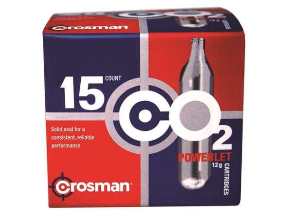 Crosman CO2-Kapseln 12g 15 Stück