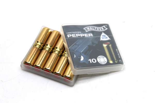 10 Pfefferpatronen Walther Pro Secur cal. 9mm P.A.