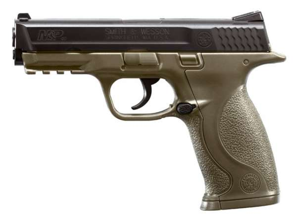 Smith & Wesson M&P Co2 Pistole, olive, 4,5mm BB