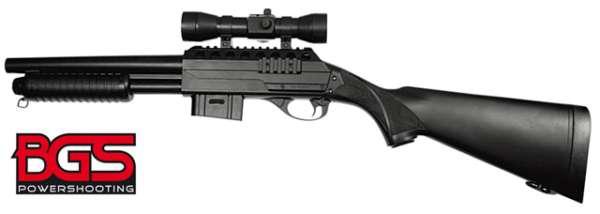 Pumpgun BGS M47 A1 mit Schaft