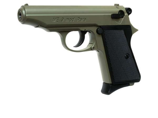 Schreckschusspistole ME 9 Para 9mm P.A.K. oliv