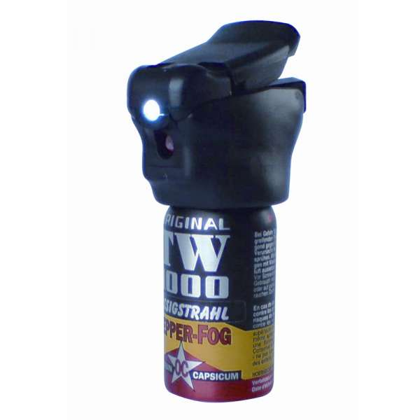 Pfefferspray TW 1000, 40 ml, inkl. LED-Licht
