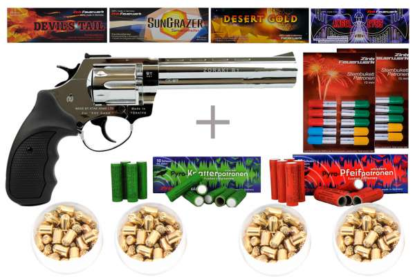 Schreckschuss-Silvester-Set-Professional-Revolver-Zoraki-R1-6-Chrom