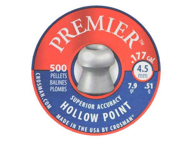 Crosman Hollow Point Diabolo 500 St. 4,5mm (.177)