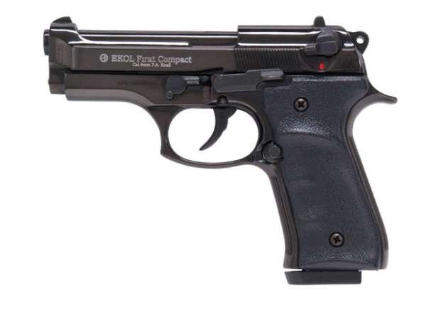 GSG Compact Schreckschusspistole / Gaspistole, schwarz
