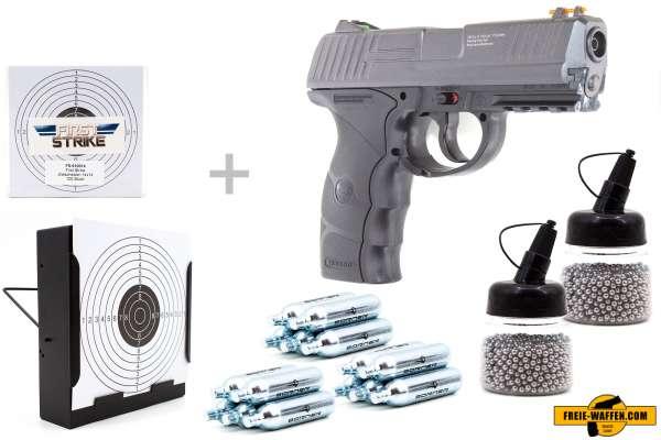Borner W3000 CO2 Pistole BB Gun Air Pistol 4,5mm (.177) Stahlrundkugeln