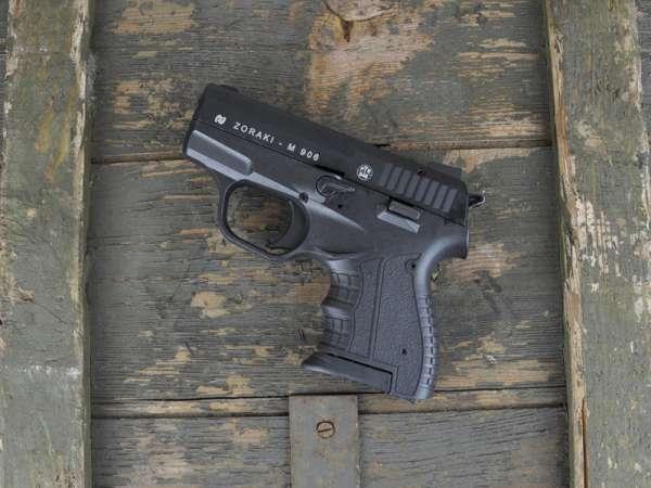 ZORAKI 906 Schreckschusspistole / Gaspistole 9 mm P.A.K. schwarz 2. Wahl