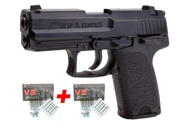 Spar-Set IWG SP15 Compact schwarz Kal. 9 mm P.A.K.